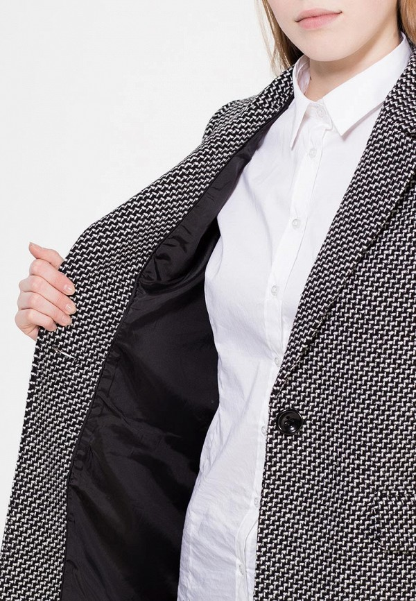 Фото 5 - женское пальто или плащ Zarina серого цвета
