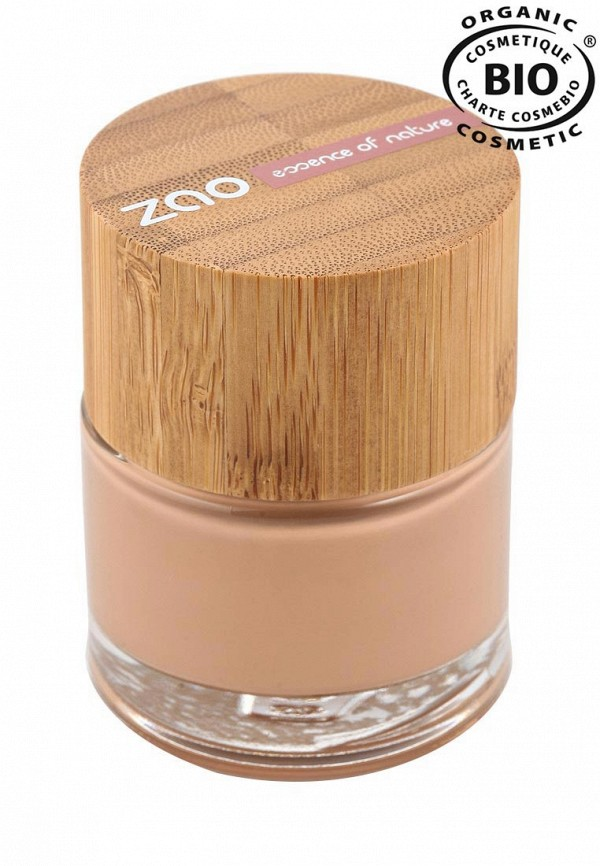 Тональная основа ZAO Essence of Nature 702 абрикос