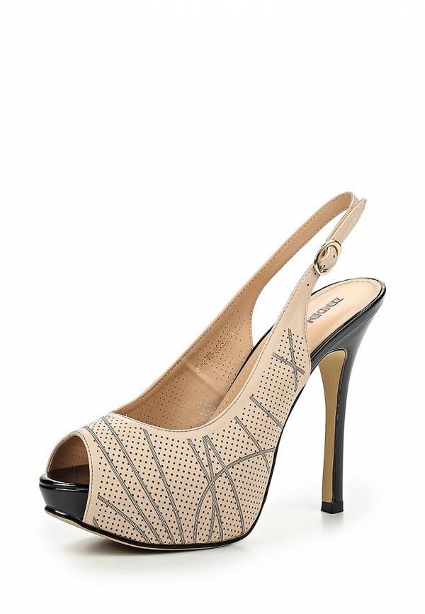 Босоножки на каблуке Zenden Woman 25-29WB-053SS