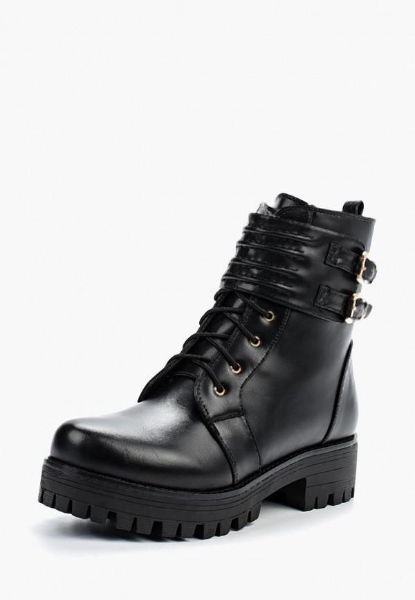 Фото - женские ботинки и полуботинки Zenden Woman черного цвета