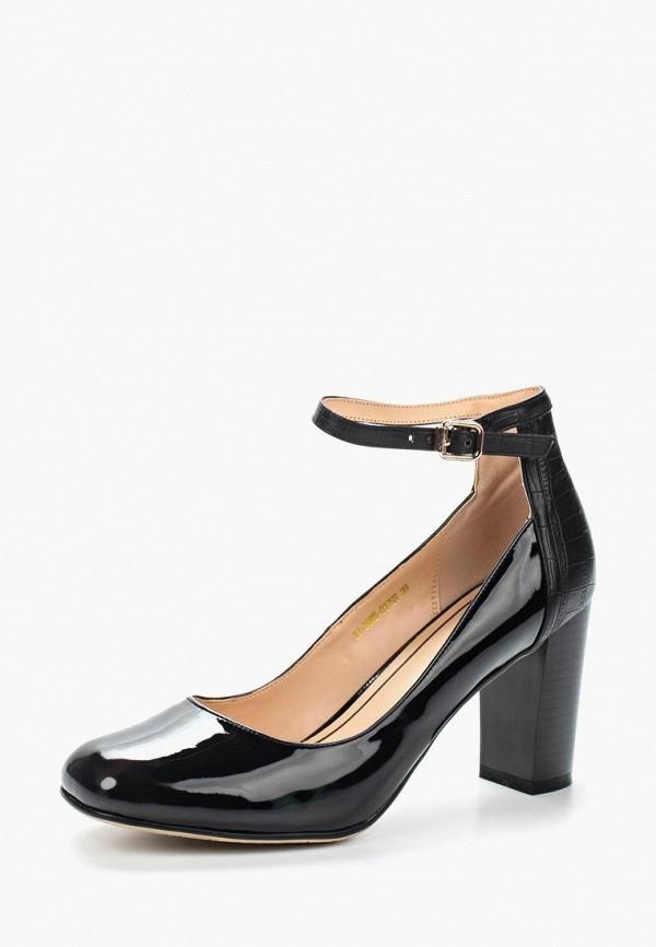 Фото 6 - женские туфли Zenden Woman черного цвета