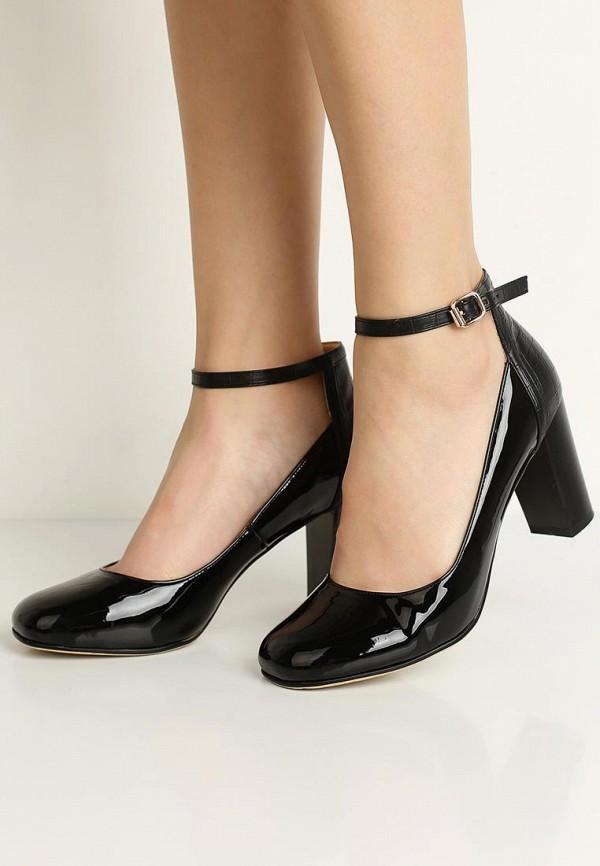 Фото 10 - женские туфли Zenden Woman черного цвета