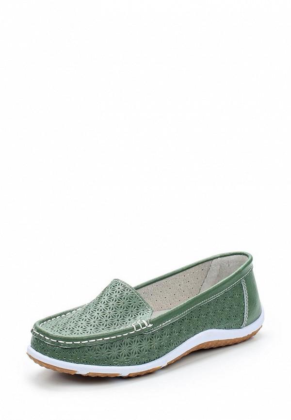 Мокасины Zenden Comfort цвет зелёный сезон весна, лето страна Китай размер 36, 37, 38, 39, 40, 41