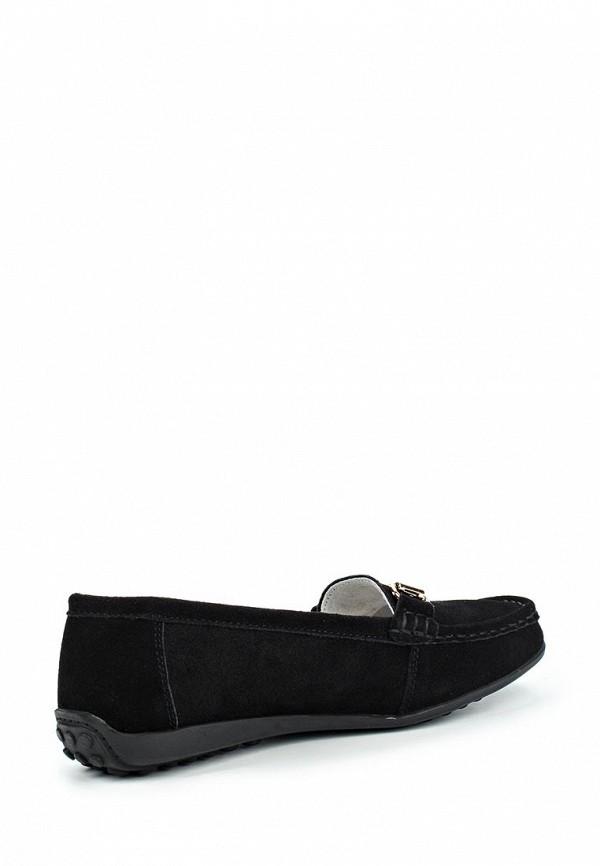 Фото 2 - женские мокасины Zenden Comfort черного цвета