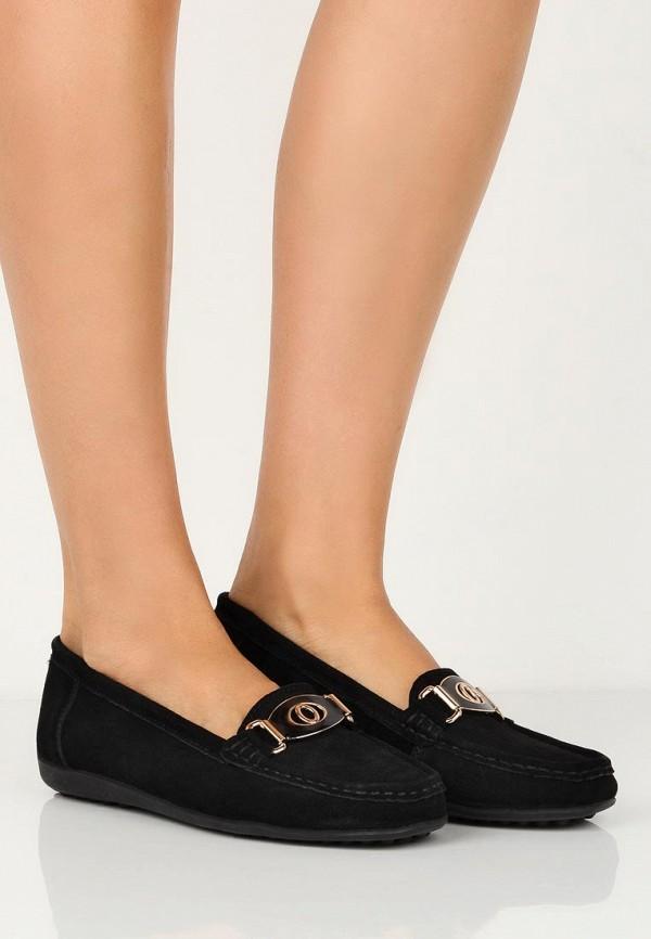 Фото 5 - женские мокасины Zenden Comfort черного цвета