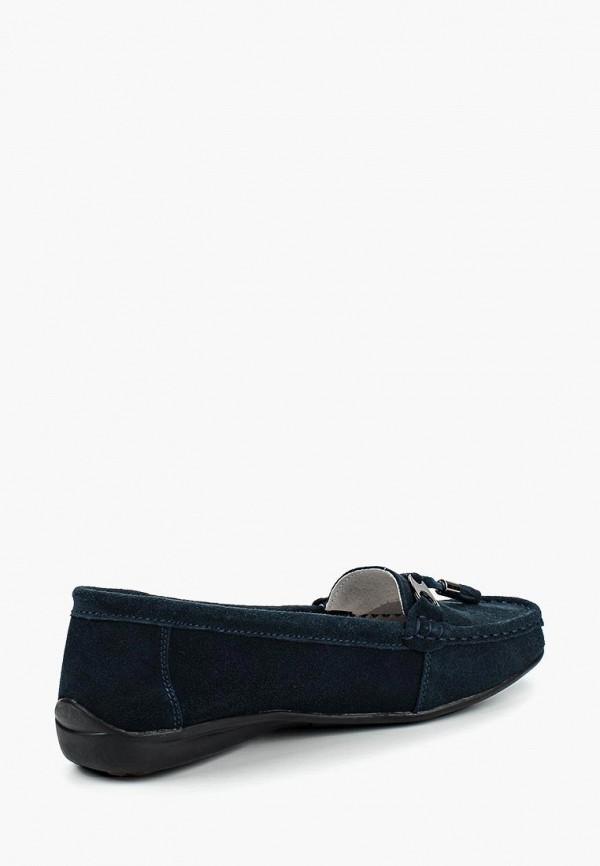 Фото 7 - женские мокасины Zenden Comfort синего цвета