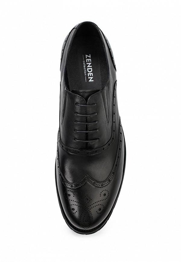Фото 4 - мужские туфли Zenden Collection черного цвета