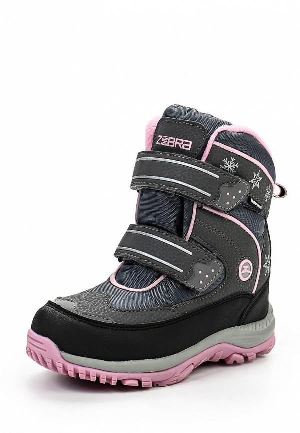 Ботинки для девочек Зебра 9902-10