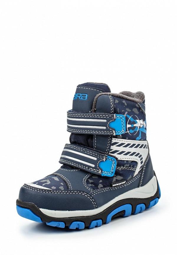 Ботинки для мальчиков Зебра 11005-5