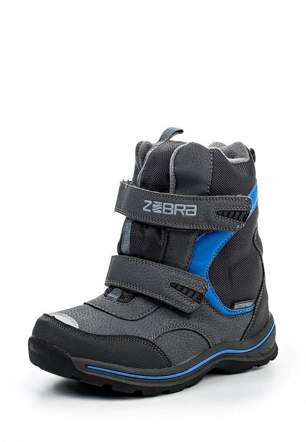 Ботинки для мальчиков Зебра 9851-10