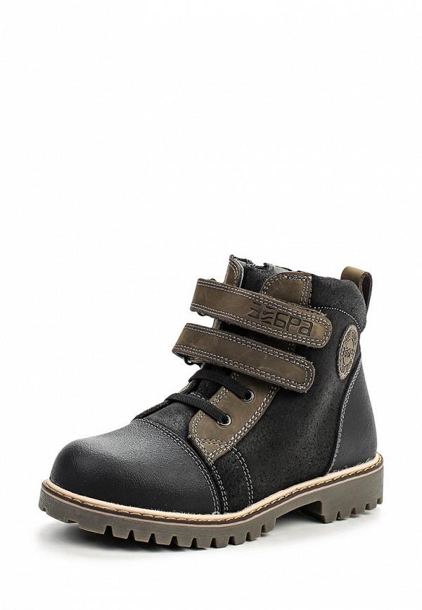 Ботинки для мальчиков Зебра 10815-10