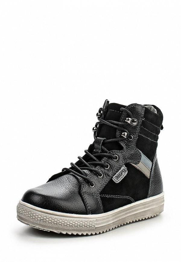 Ботинки для мальчиков Зебра 10827-1