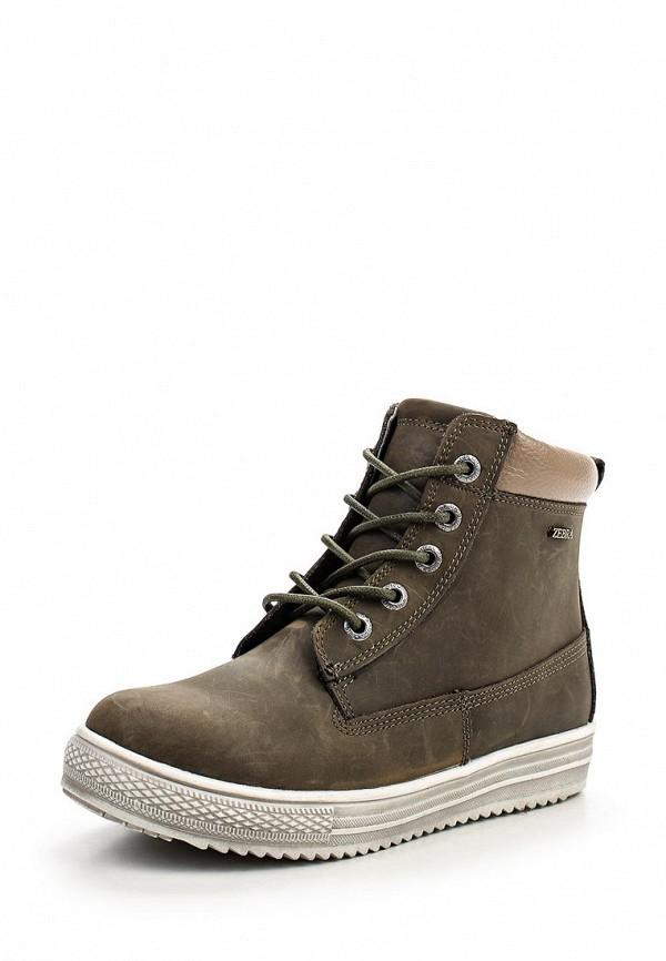 Ботинки для мальчиков Зебра 10829-3