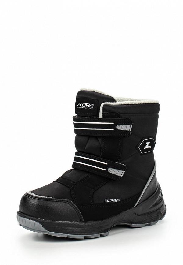 Ботинки для мальчиков Зебра 11027-1