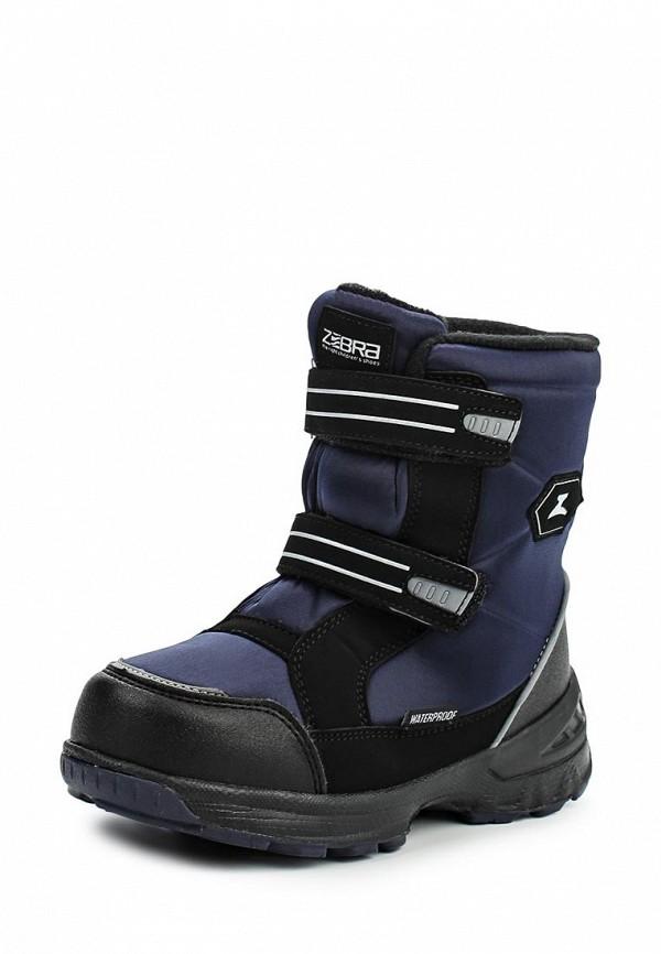 Ботинки для мальчиков Зебра 11028-5