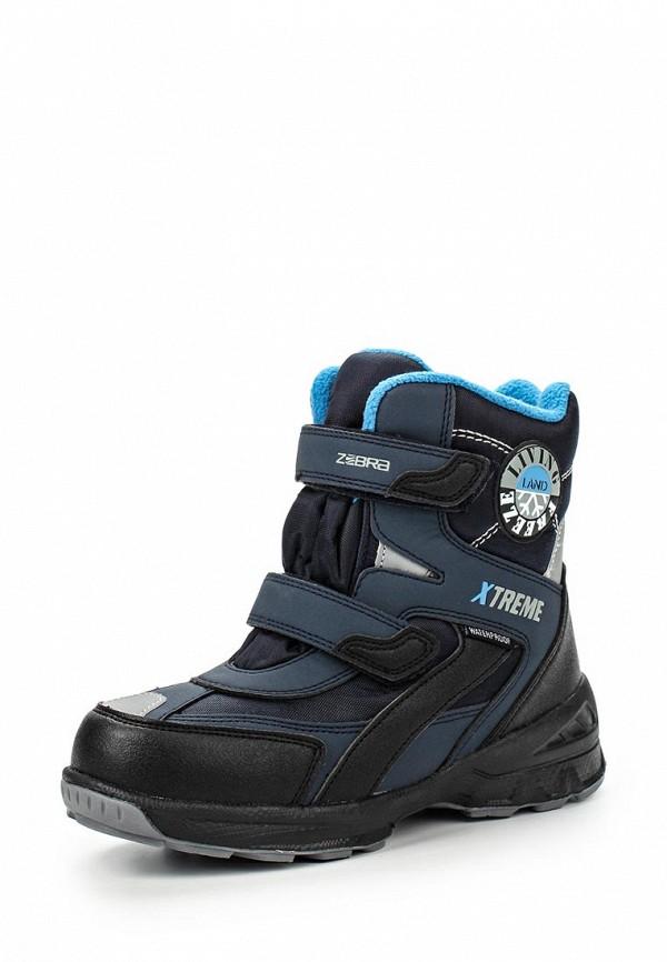 Ботинки для мальчиков Зебра 11034-5