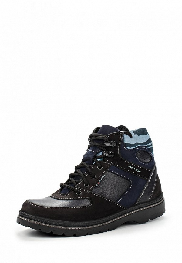 Ботинки для мальчиков Зебра 11387-1