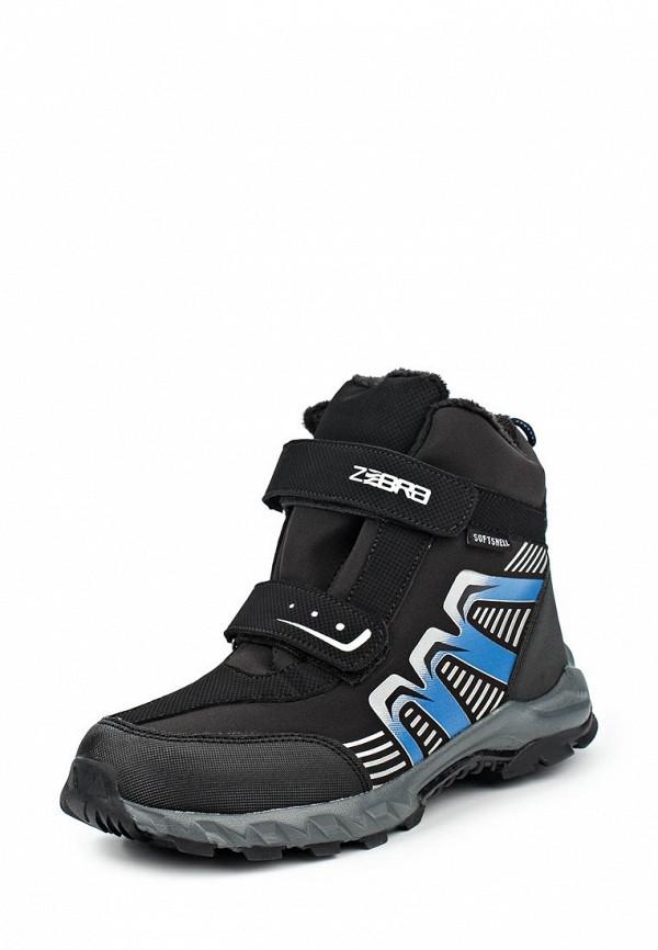 Ботинки для мальчиков Зебра 10970-1