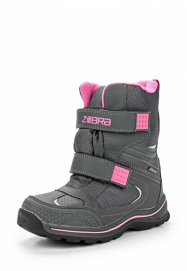 Ботинки для девочек Зебра 9850-10