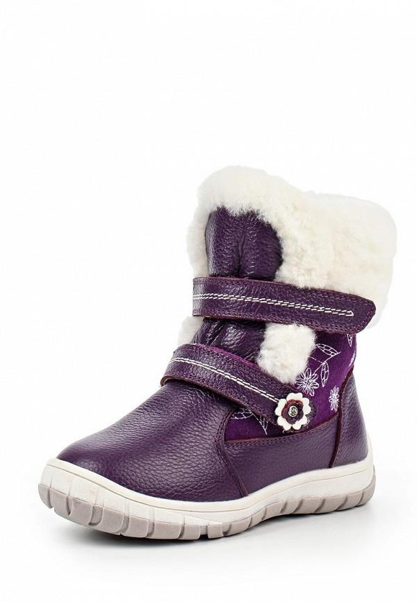 Ботинки для девочек Зебра 11106-20