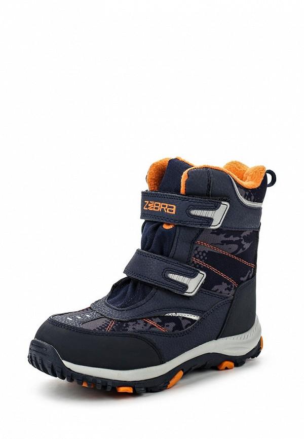 Ботинки для девочек Зебра 11020-5