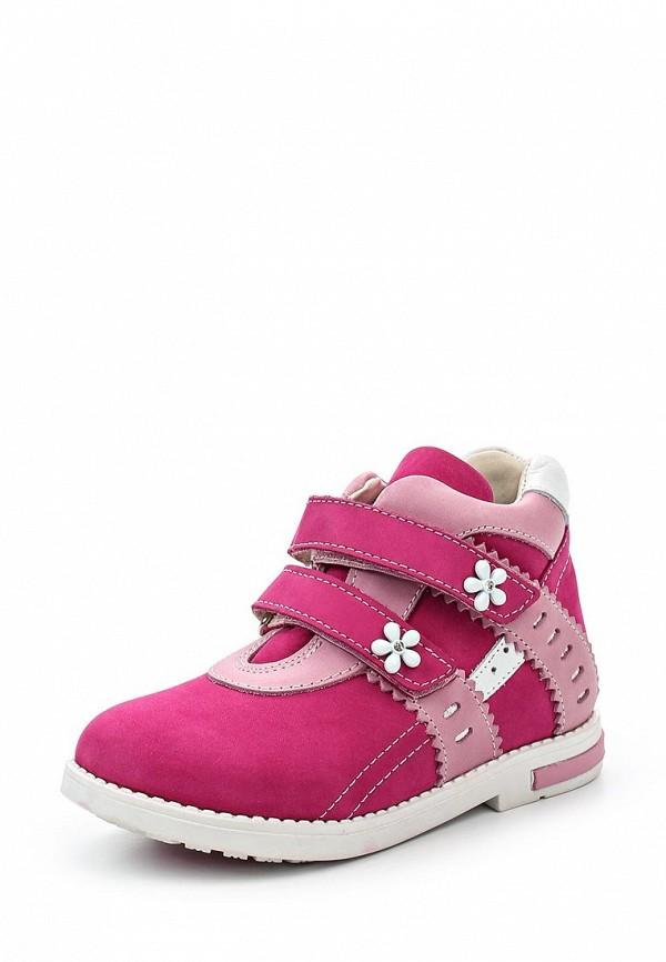 Ботинки для девочек Зебра 11500-9