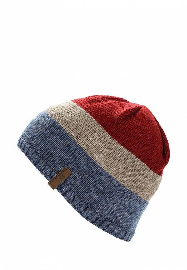 Фото - мужскую шапку Ziener разноцветного цвета
