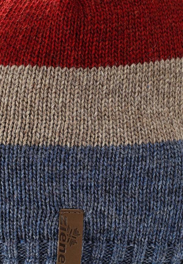 Фото 4 - мужскую шапку Ziener разноцветного цвета