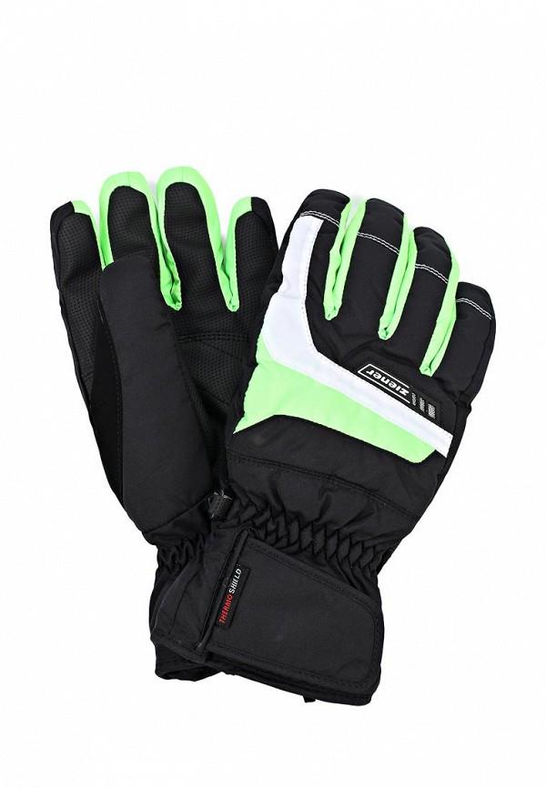 Перчатки Ziener ZI003DMCUU69. Цвет: черный