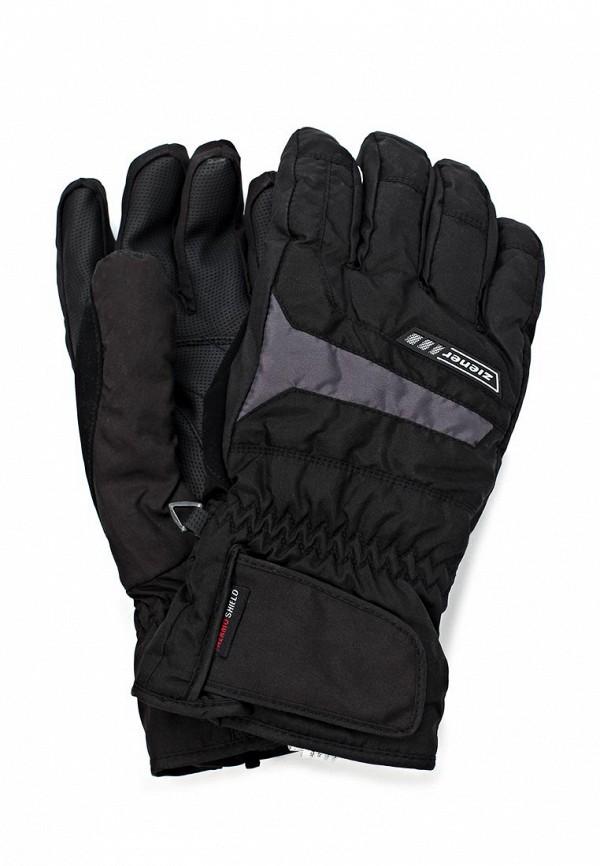 Перчатки Ziener ZI003DMJU177. Цвет: черный