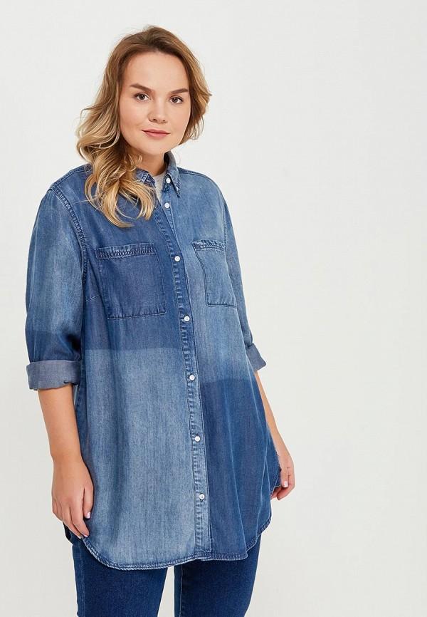 Рубашка джинсовая Zizzi Zizzi ZI007EWAGXG2 zizzi j99448a