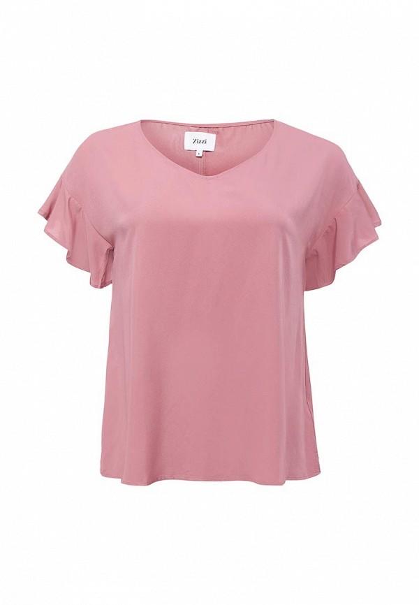 Фото - женскую блузку Zizzi розового цвета