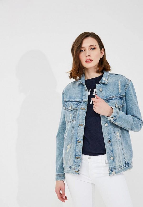 Куртка джинсовая Zoe Karssen Zoe Karssen ZO006EWYGF36 рубашка джинсовая zoe karssen zoe karssen zo006ewxcb58
