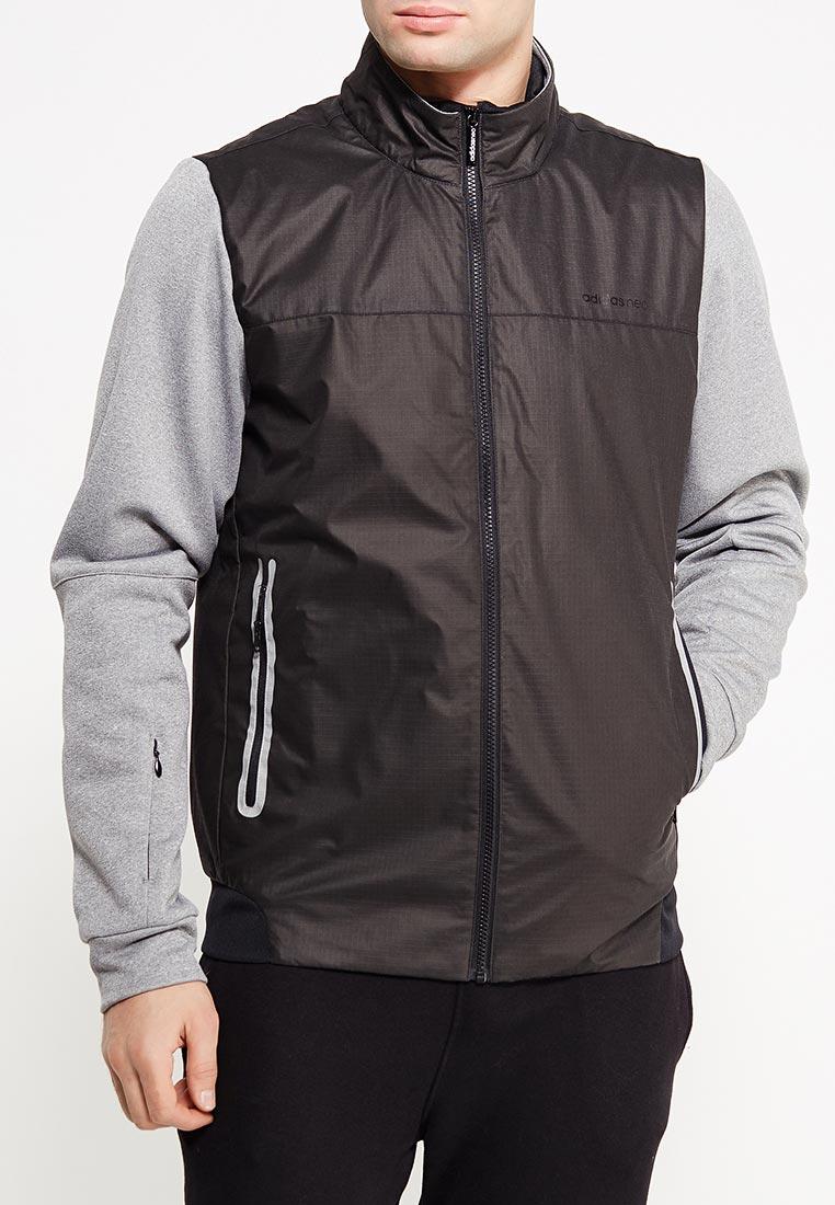 Мужская верхняя одежда Adidas (Адидас) BR8409 (Цвет  Черный) купить ... 2fd28c32cf7