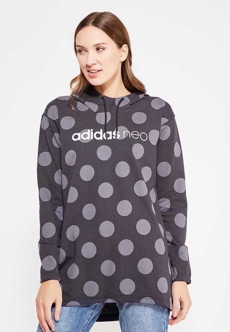 Женские худи Adidas Neo (Адидас Нео) BQ0607