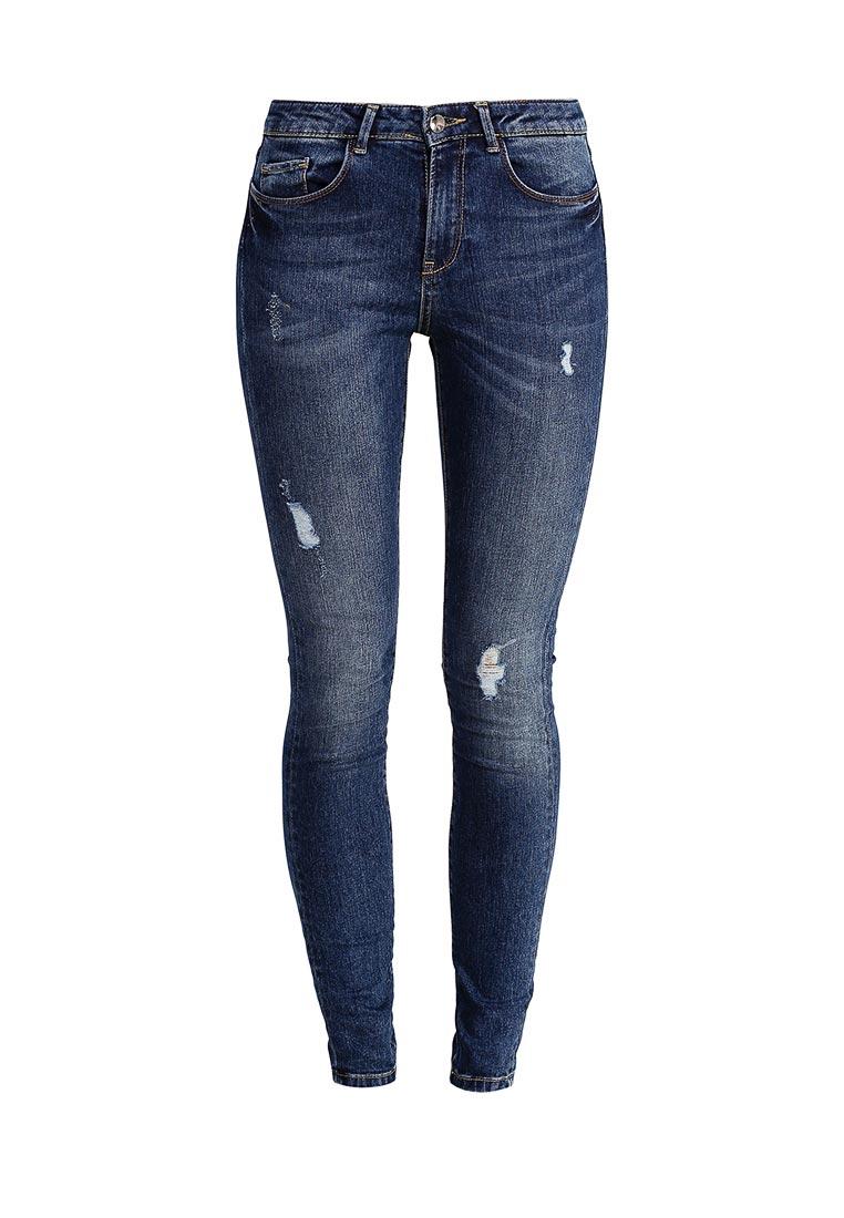 Зауженные джинсы adL 153W8043000: изображение 1
