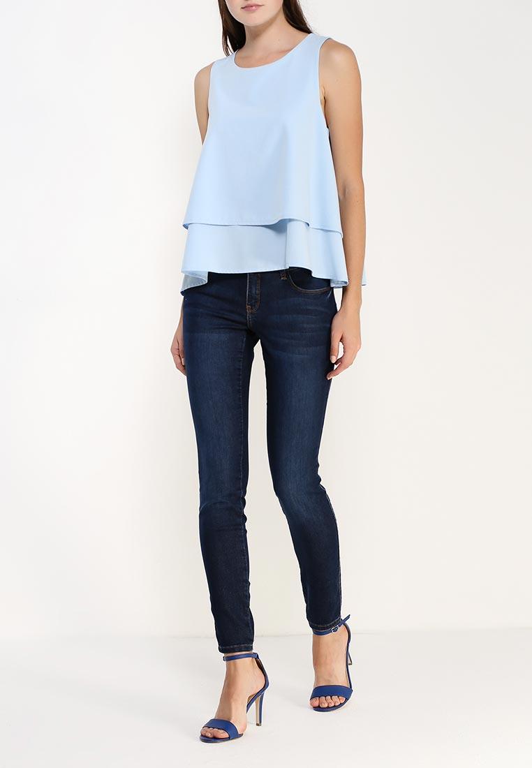 Зауженные джинсы adL 15316426151: изображение 6