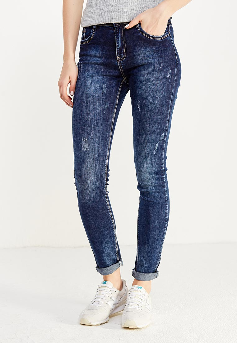 Зауженные джинсы Adrixx B012-CZP332