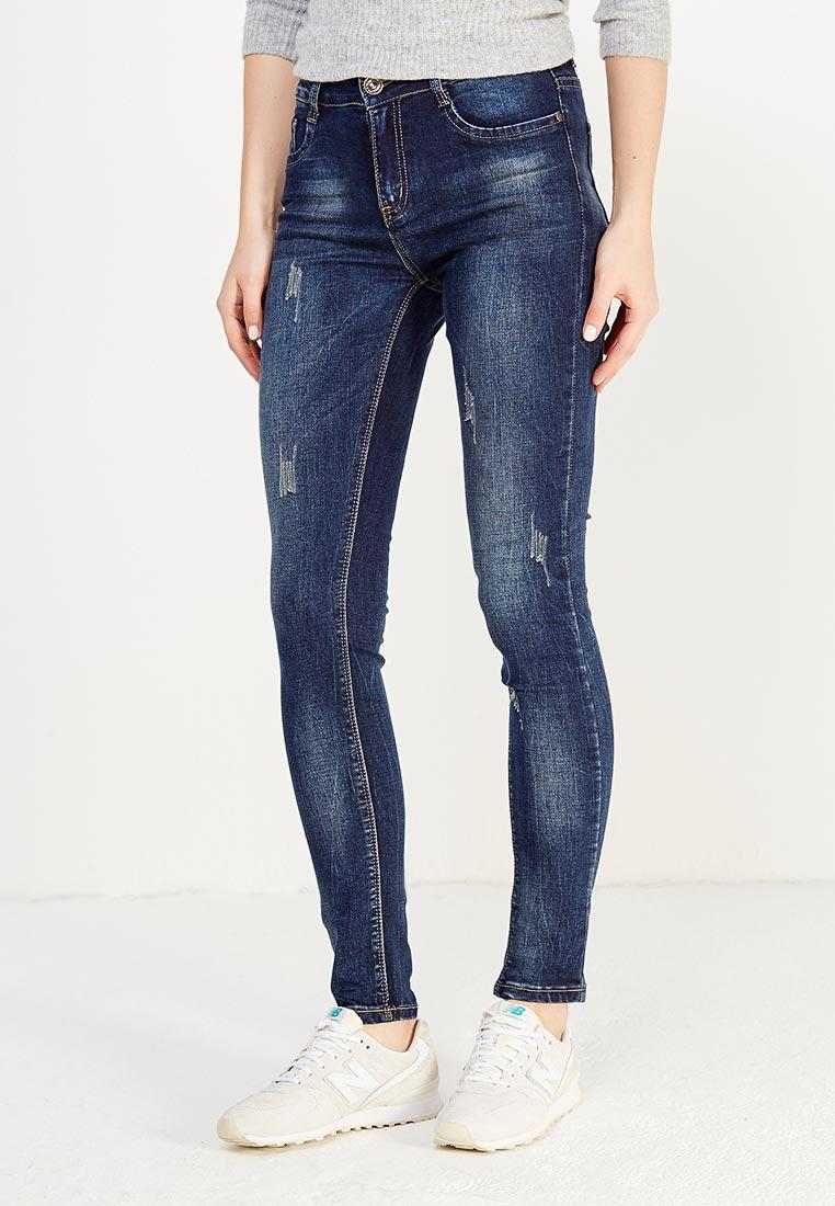 Зауженные джинсы Adrixx B012-CZP341