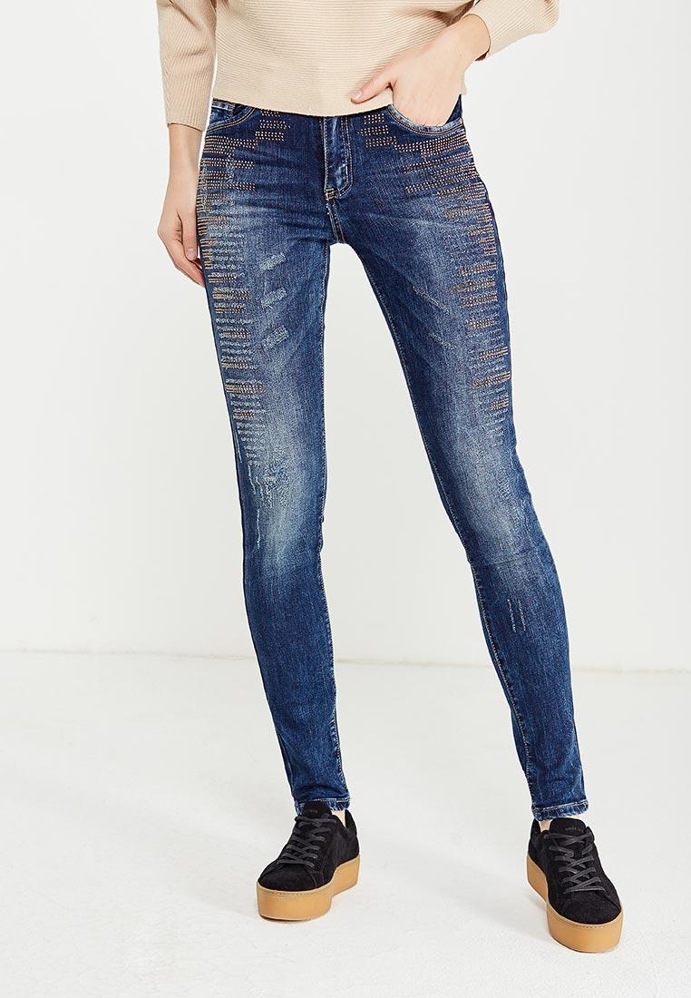 Зауженные джинсы Adrixx B018-WG765