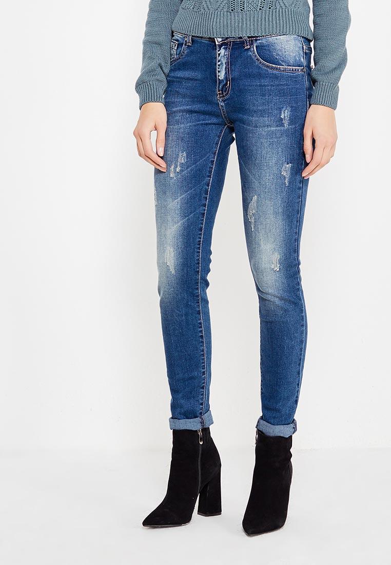 Зауженные джинсы Adrixx B018-WG771