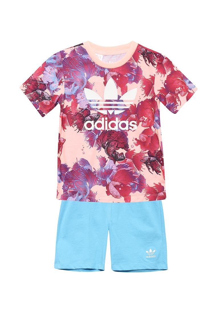 Спортивный костюм для девочек Adidas Originals (Адидас Ориджиналс ... 0a1117db1ab