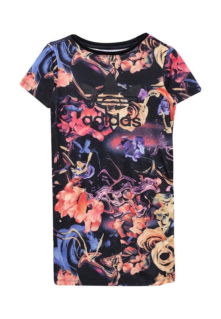 Платье Adidas Originals (Адидас Ориджиналс) BQ3973