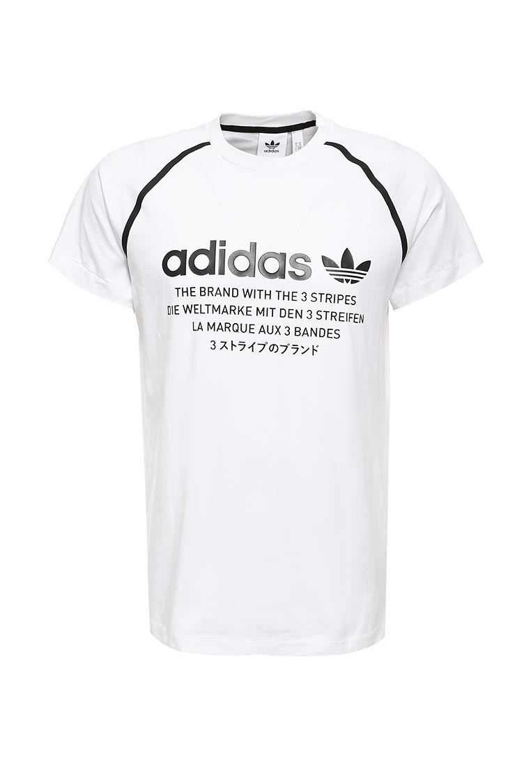 c8a5d8394b990 Цвет: Белый. Спортивная футболка Adidas Originals (Адидас Ориджиналс)  CE7249: изображение 1