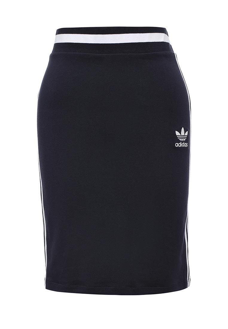 Мини-юбка Adidas Originals (Адидас Ориджиналс) BJ8370