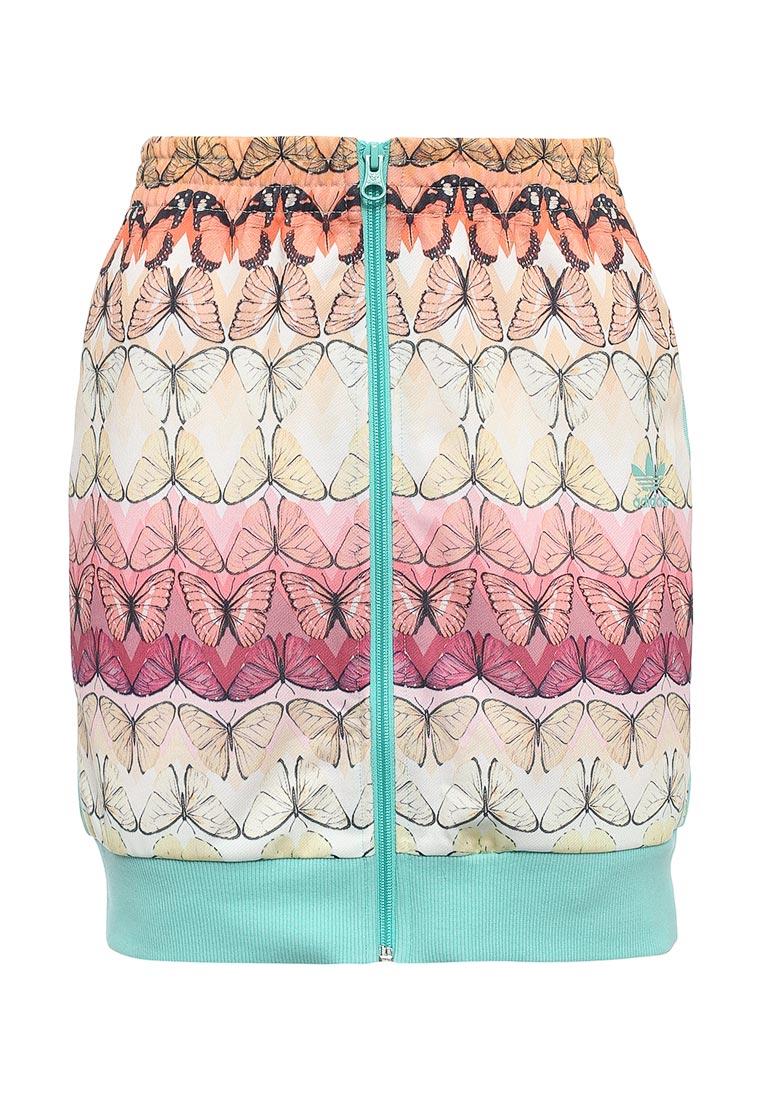Узкая юбка Adidas Originals (Адидас Ориджиналс) BJ9034