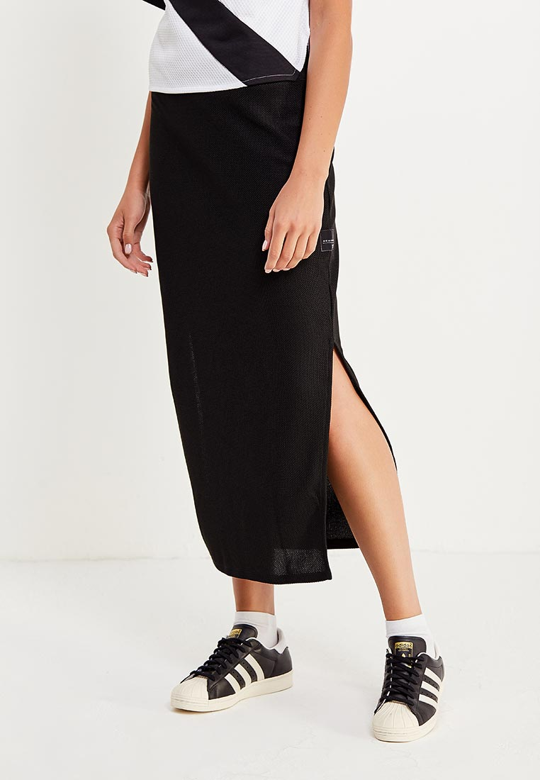 Прямая юбка Adidas Originals (Адидас Ориджиналс) BR5138