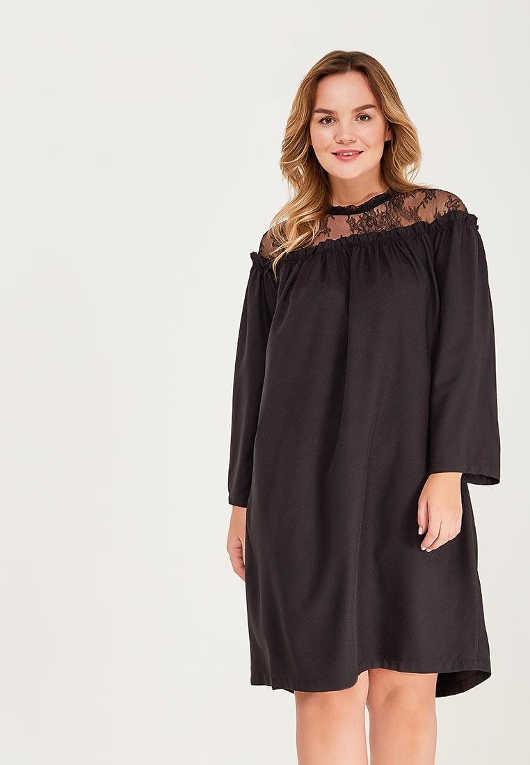 Платье-миди Aelite 11242/BK