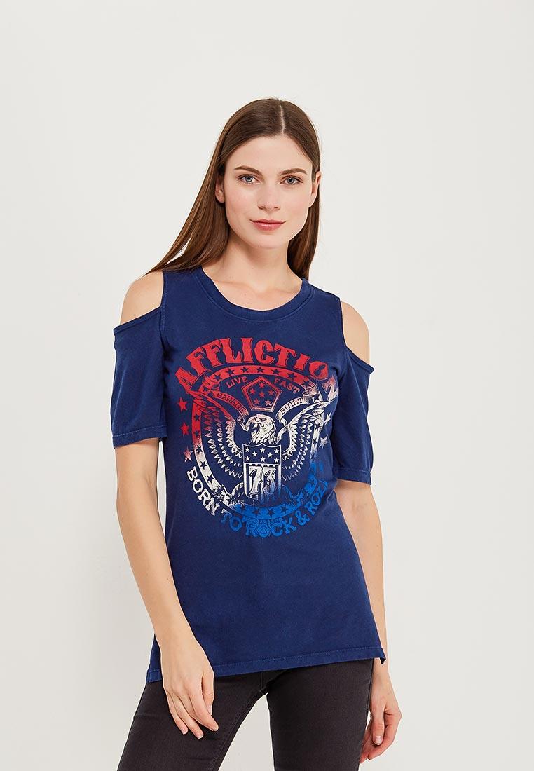 Спортивная футболка Affliction (Аффликшн) AW16402