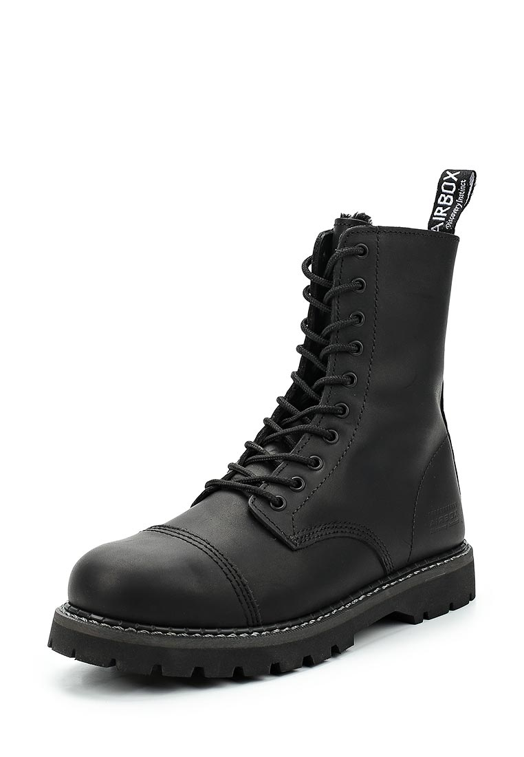 Мужские ботинки Airbox (Эйрбокс) STAG AF BLACK 135762